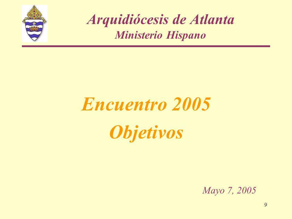 Arquidiócesis de Atlanta Ministerio Hispano