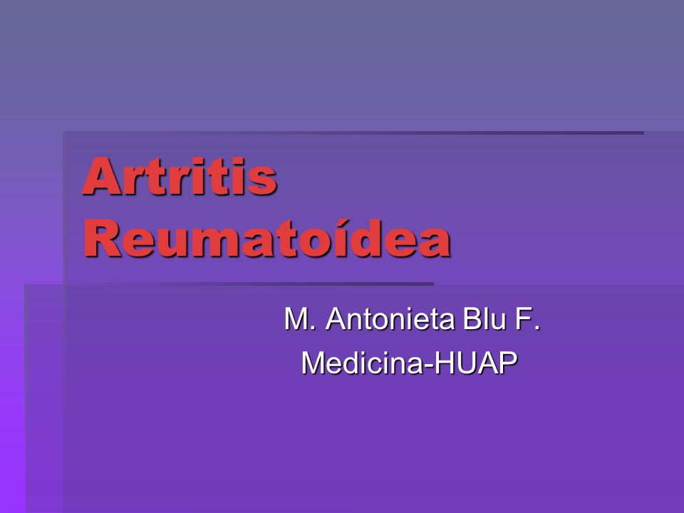 M. Antonieta Blu F. Medicina-HUAP