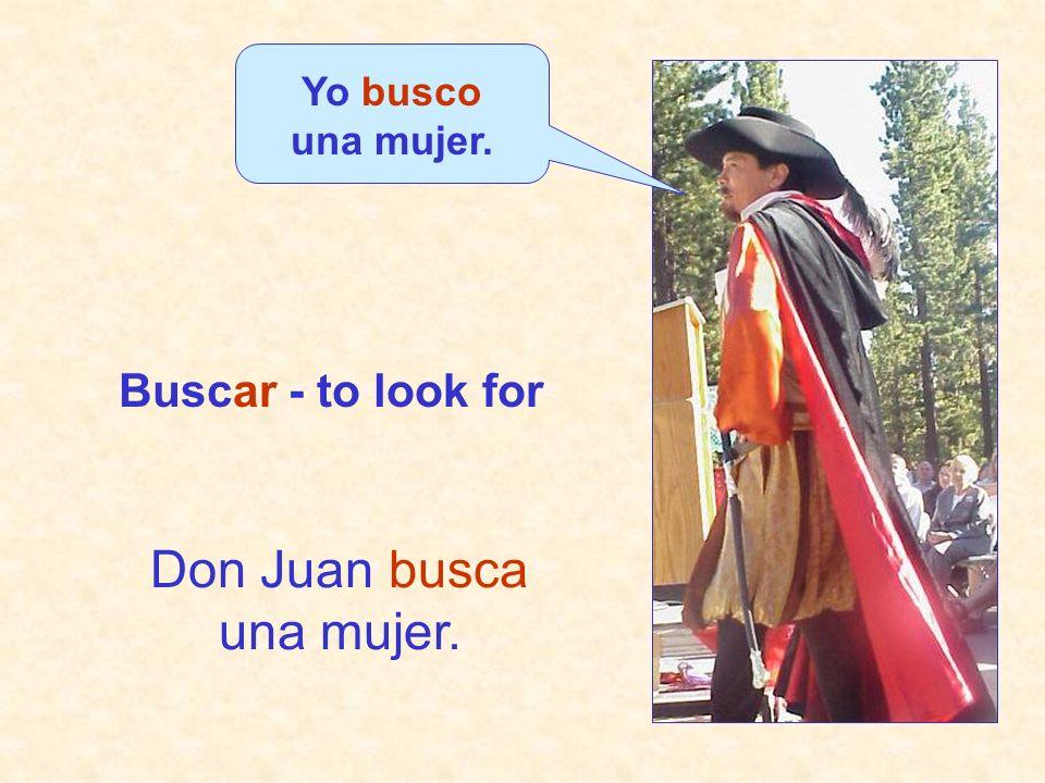 Don Juan busca una mujer.