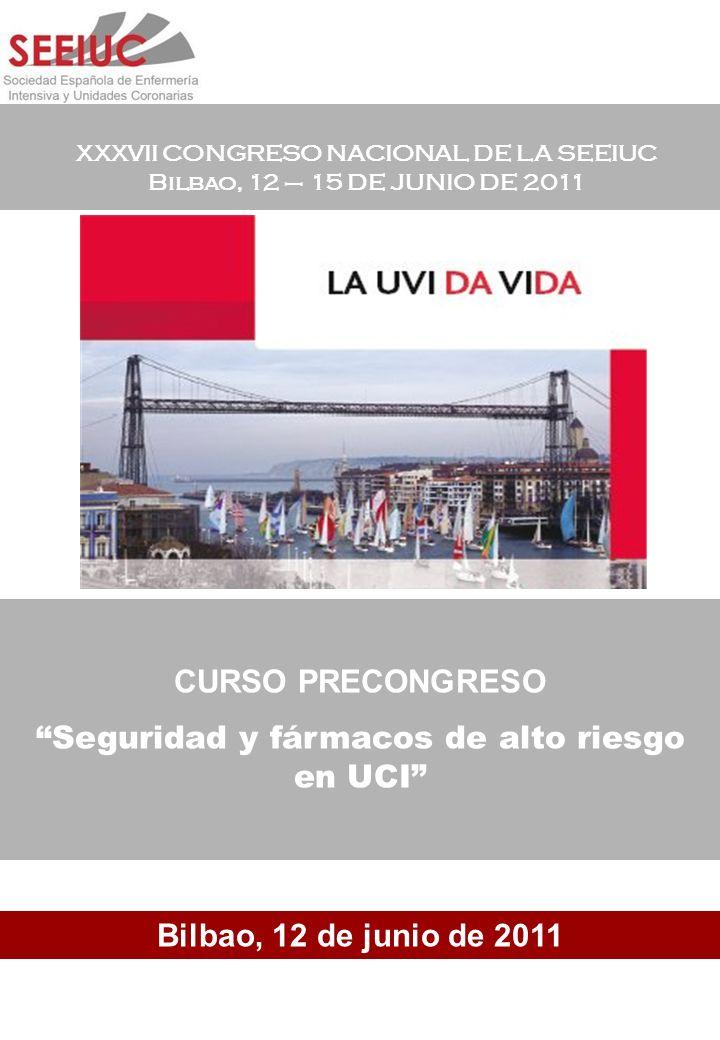 Seguridad y fármacos de alto riesgo en UCI