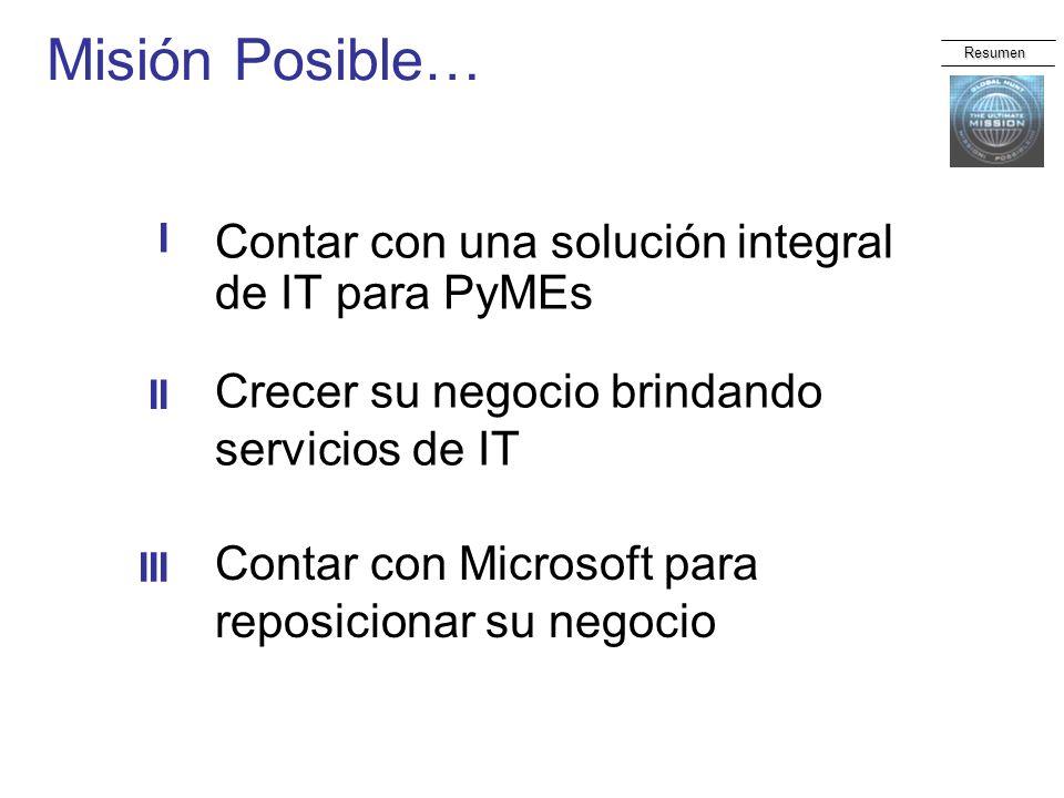 Misión Posible… Contar con una solución integral de IT para PyMEs