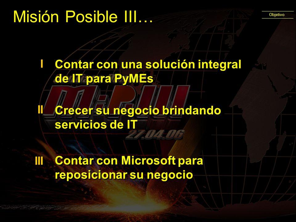 Misión Posible III… Santiago Douton 27.04.06