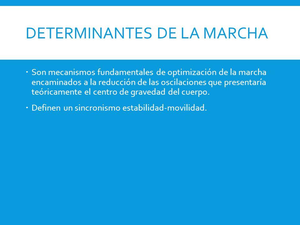 DETERMINANTES DE LA MARCHA