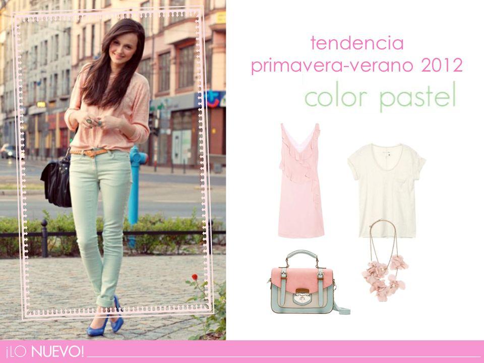 tendencia primavera-verano 2012