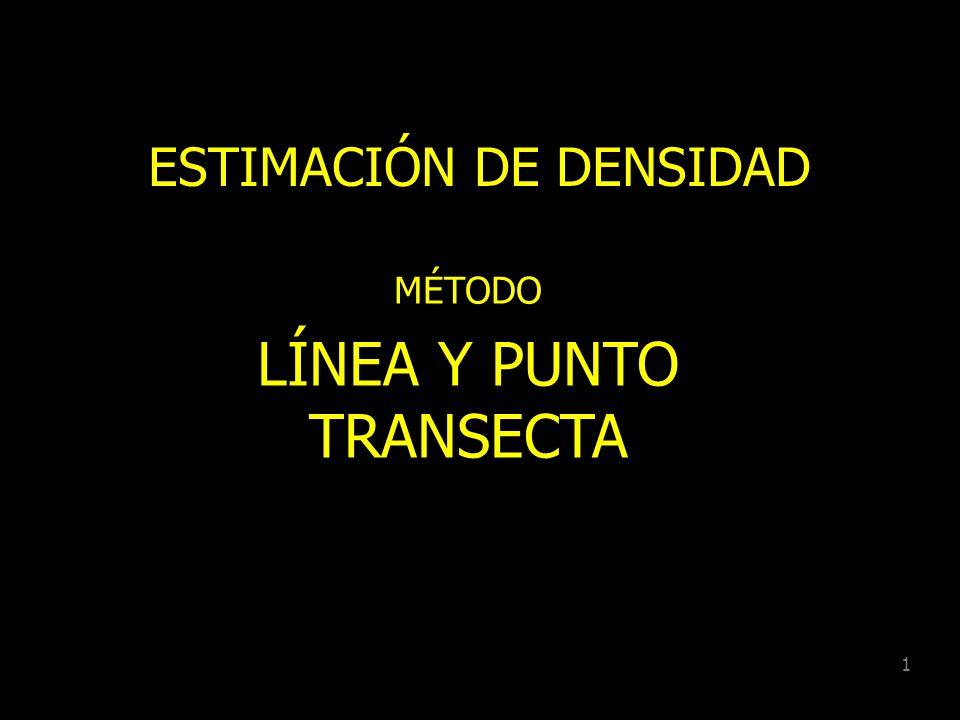ESTIMACIÓN DE DENSIDAD