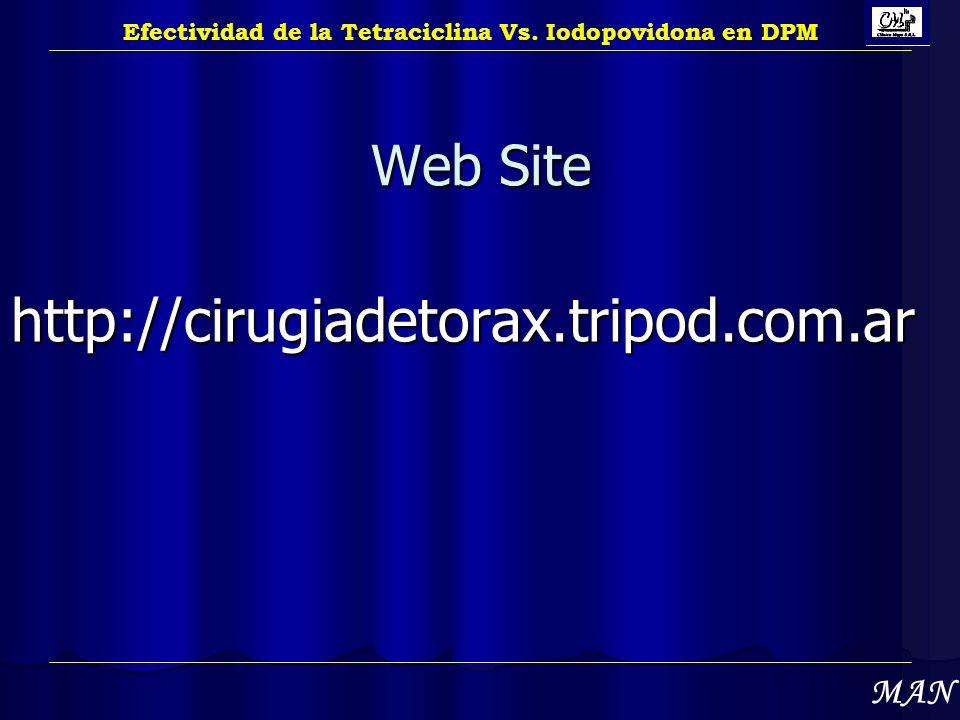 http://cirugiadetorax.tripod.com.ar Web Site MAN
