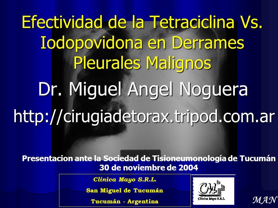 Dr. Miguel Angel Noguera