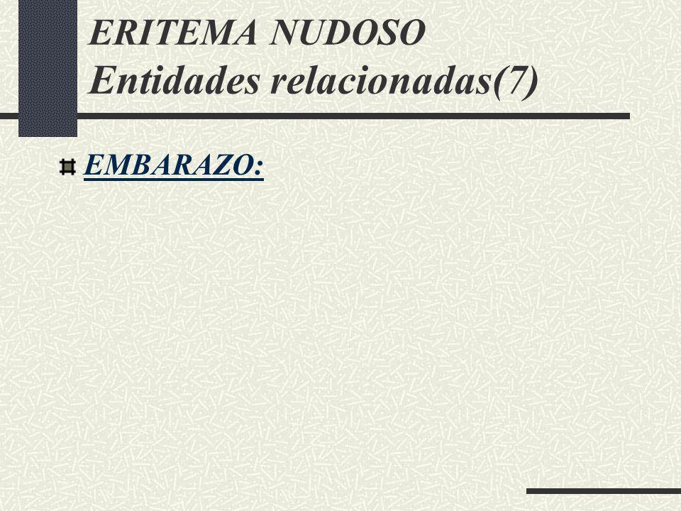 ERITEMA NUDOSO Entidades relacionadas(7)