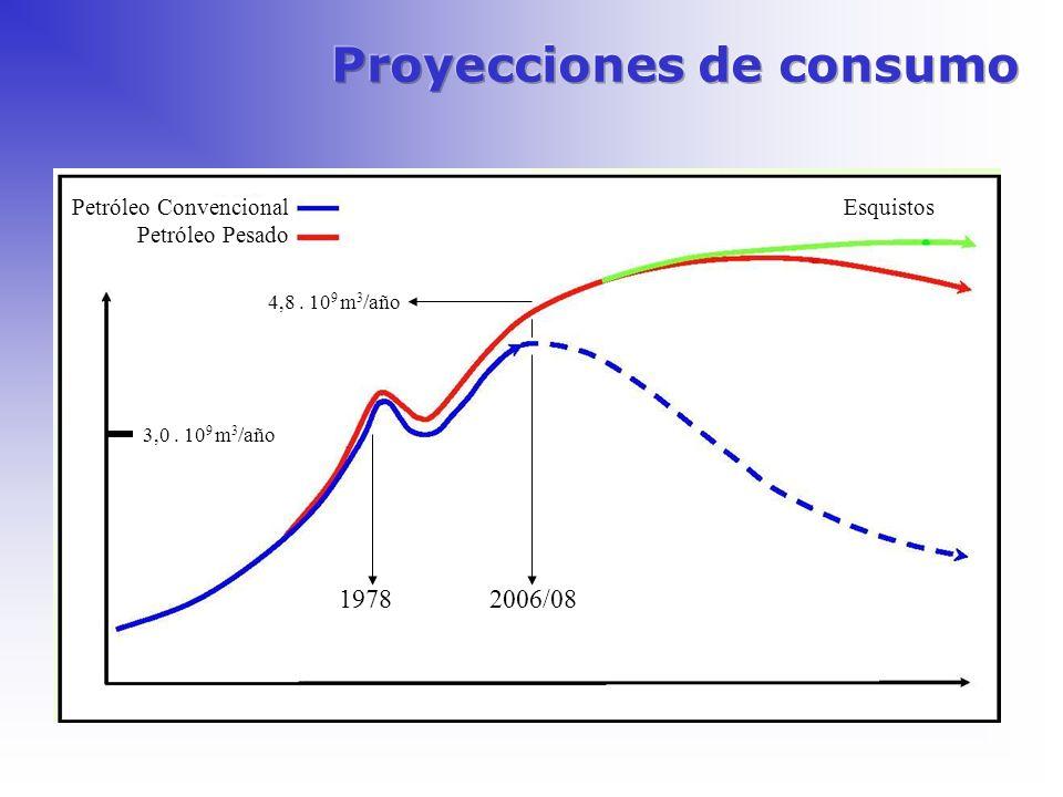 Proyecciones de consumo