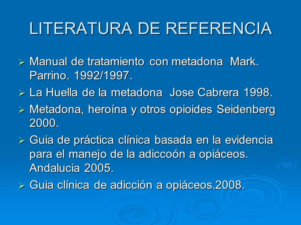 LITERATURA DE REFERENCIA