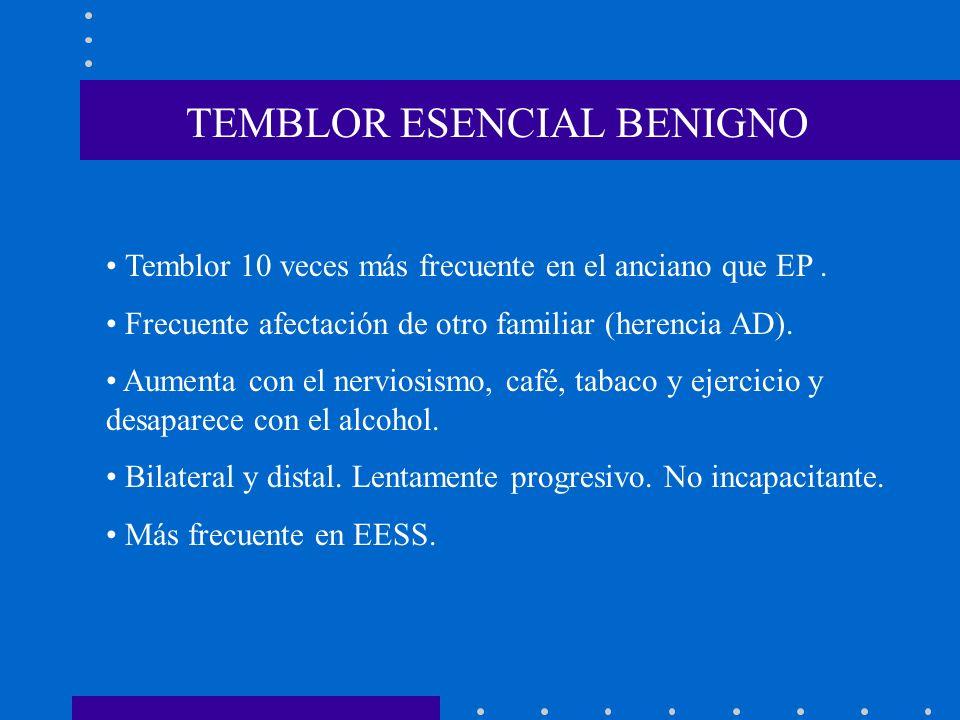 TEMBLOR ESENCIAL BENIGNO