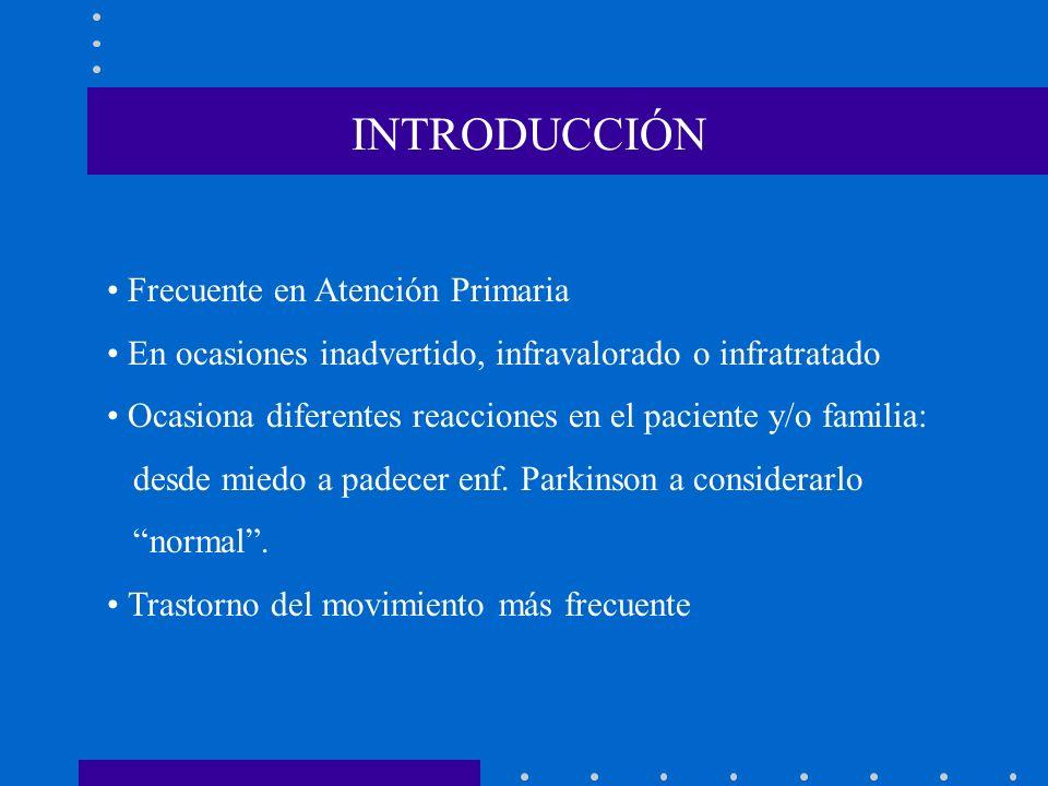 INTRODUCCIÓN • Frecuente en Atención Primaria. • En ocasiones inadvertido, infravalorado o infratratado.
