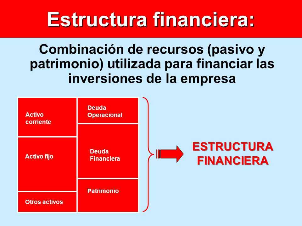 Estructura financiera: