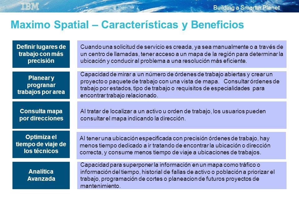 Maximo Spatial – Características y Beneficios