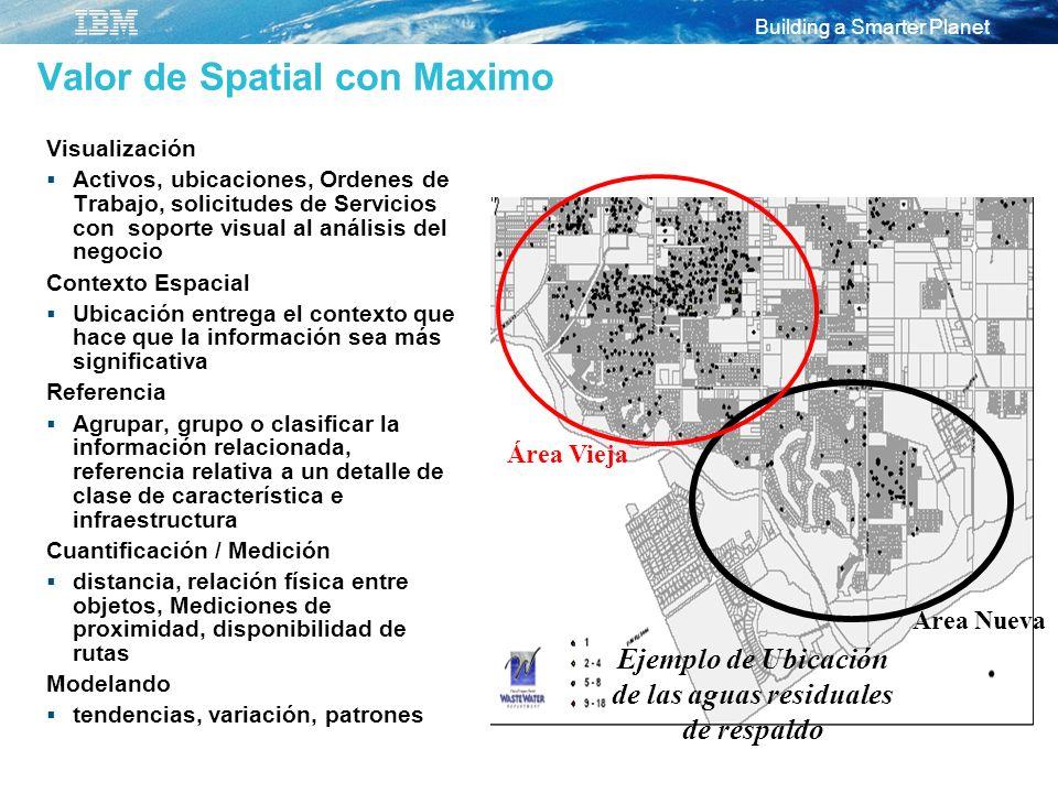 Valor de Spatial con Maximo