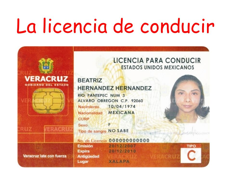 La Licencia De Conducir Cap 237 Tulo 3 Asking For