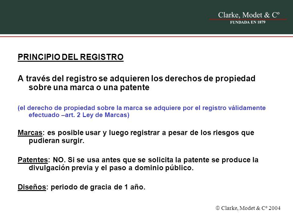 PRINCIPIO DEL REGISTRO