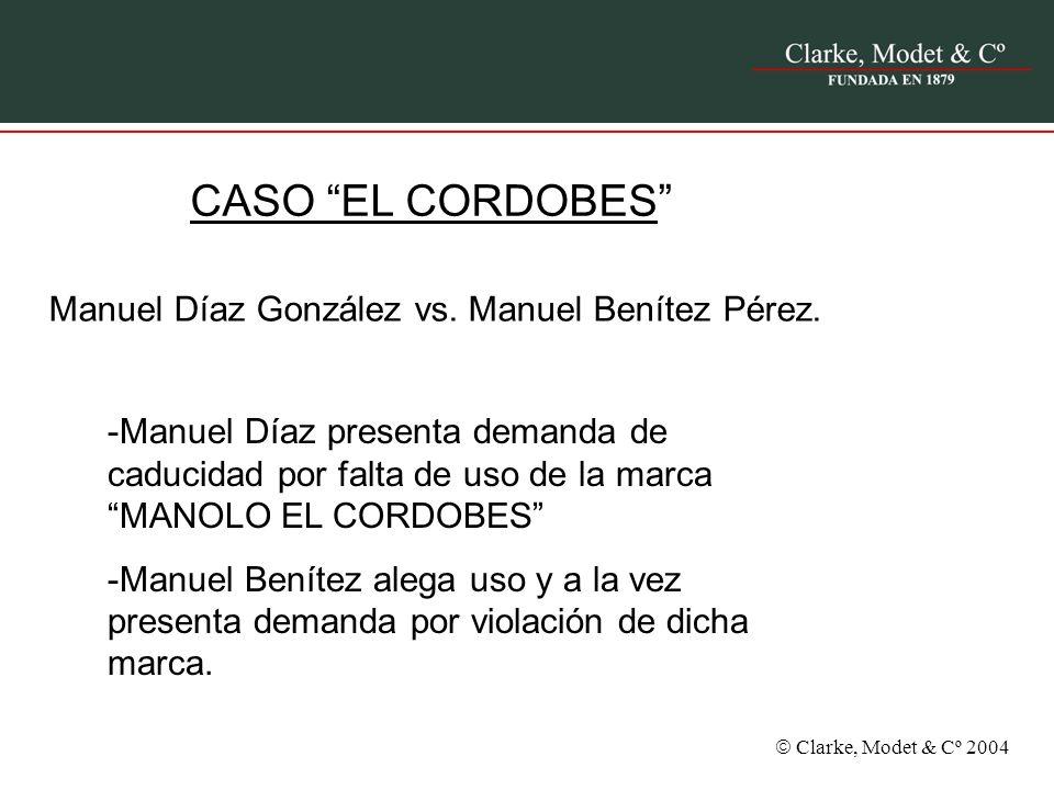 Manuel Díaz González vs. Manuel Benítez Pérez.