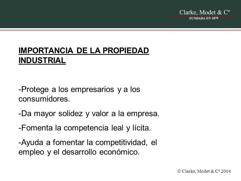 IMPORTANCIA DE LA PROPIEDAD INDUSTRIAL