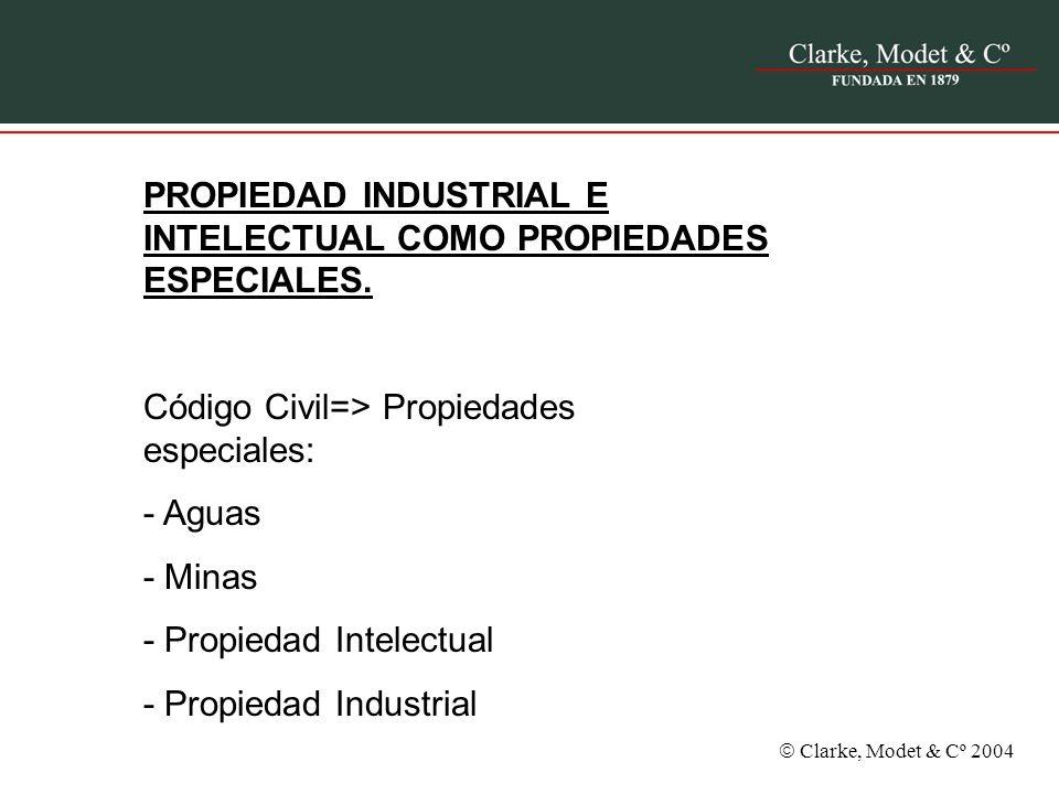 PROPIEDAD INDUSTRIAL E INTELECTUAL COMO PROPIEDADES ESPECIALES.
