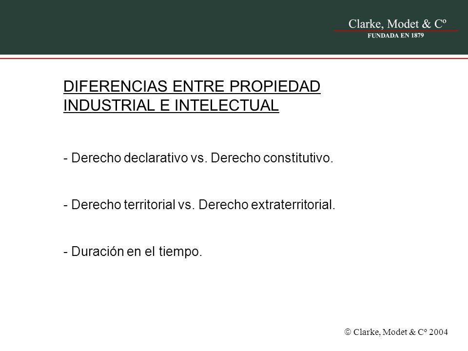DIFERENCIAS ENTRE PROPIEDAD INDUSTRIAL E INTELECTUAL