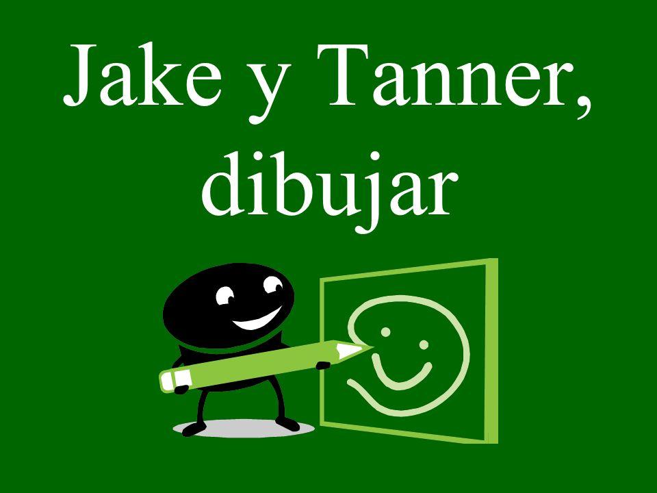 Jake y Tanner, dibujar