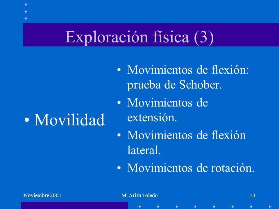 Exploración física (3) Movilidad