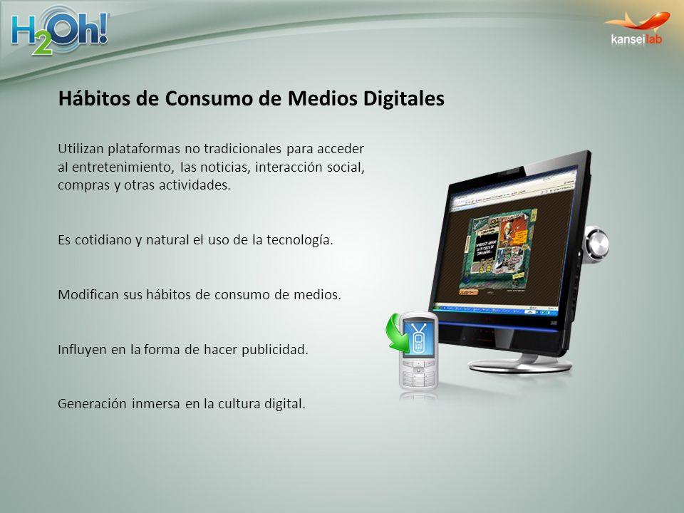 Hábitos de Consumo de Medios Digitales