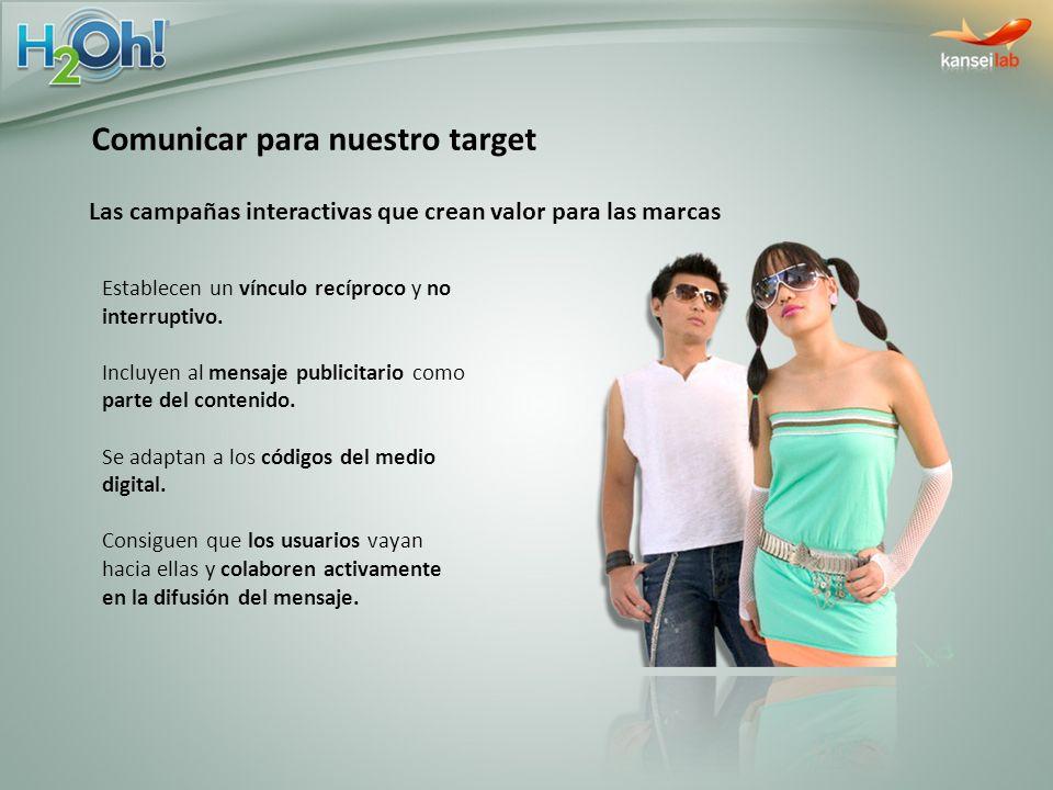 Comunicar para nuestro target
