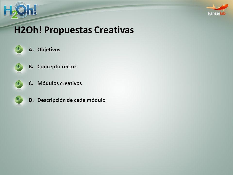 H2Oh! Propuestas Creativas