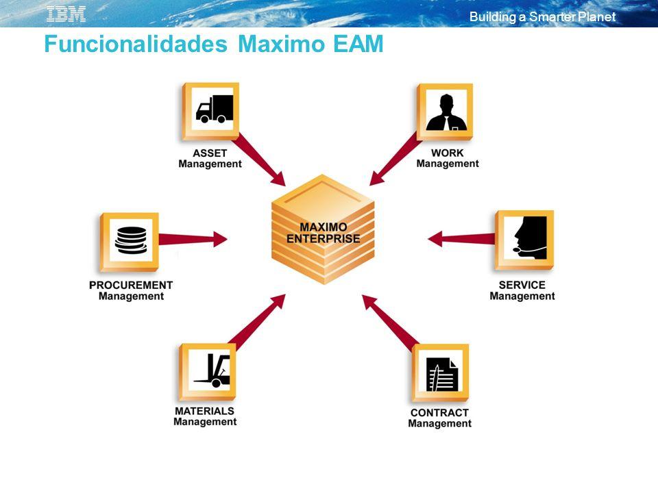 Funcionalidades Maximo EAM