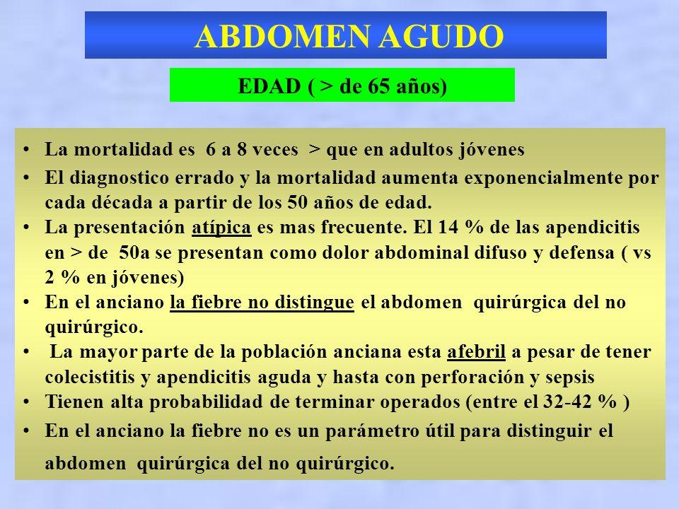 ABDOMEN AGUDO EDAD ( > de 65 años)