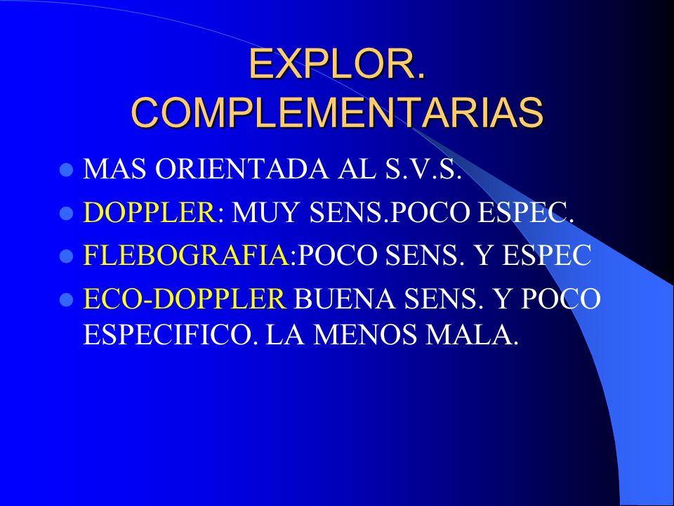 EXPLOR. COMPLEMENTARIAS