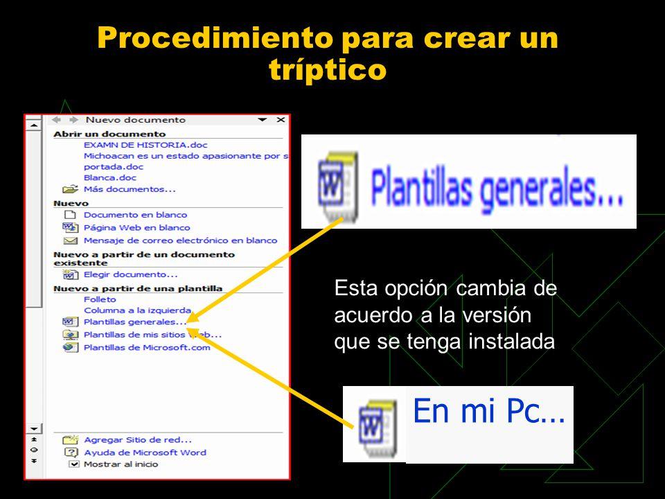 LOS TRÍPTICOS.. - ppt video online descargar