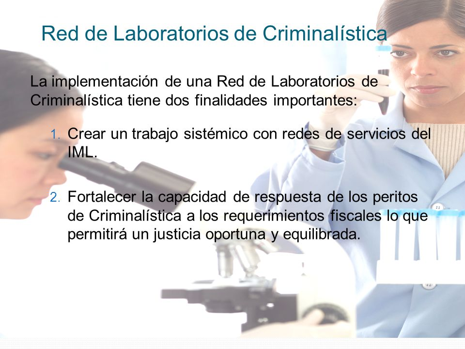Red de Laboratorios de Criminalística