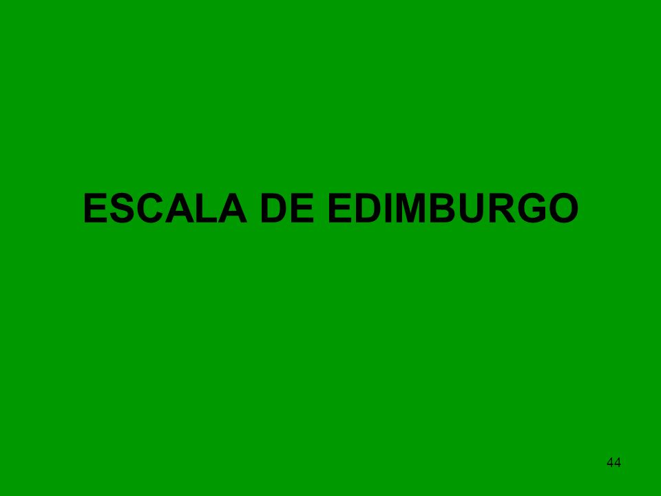 ESCALA DE EDIMBURGO