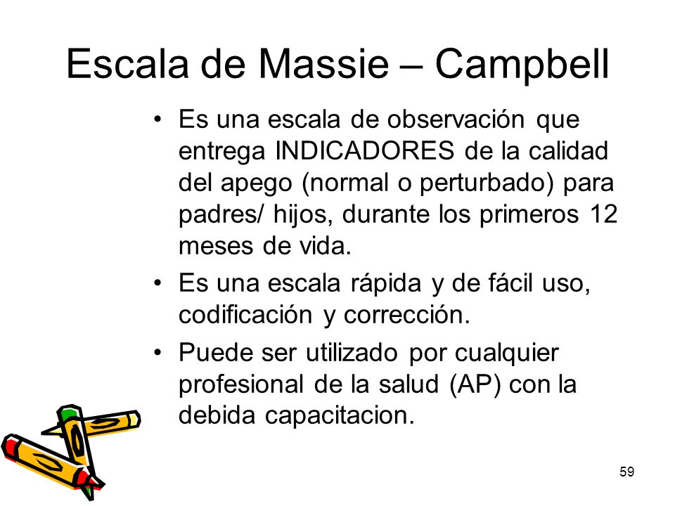 Escala de Massie – Campbell