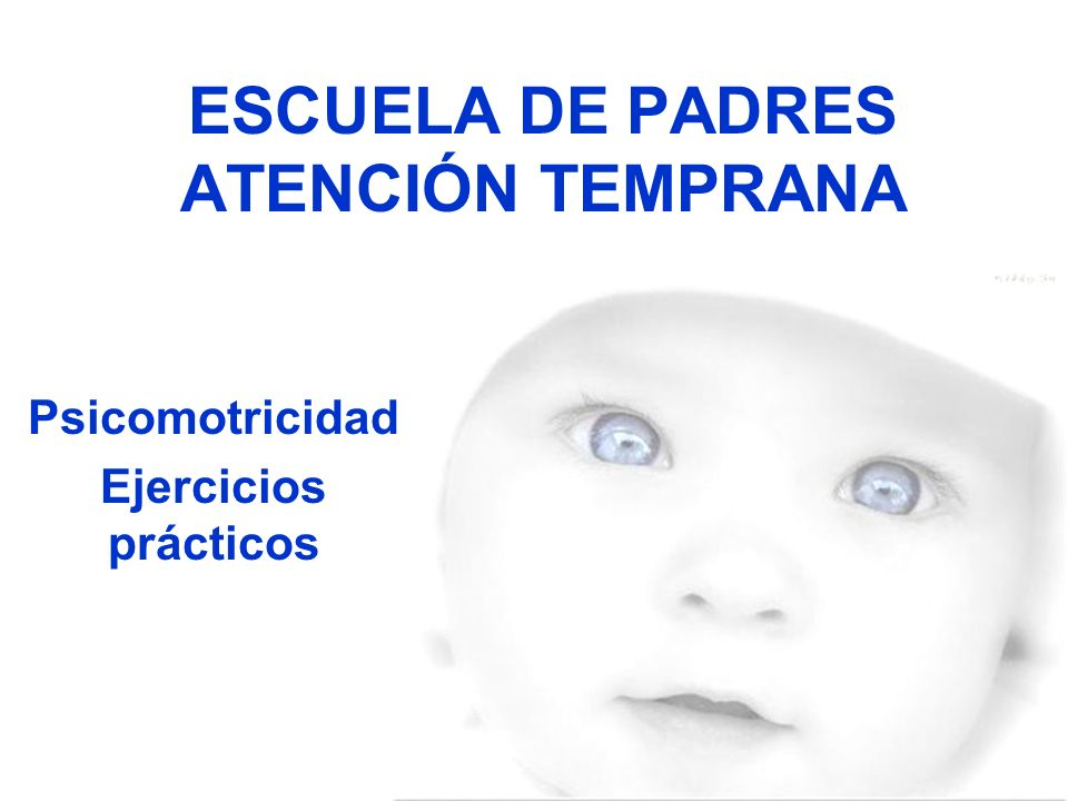 ESCUELA DE PADRES ATENCIÓN TEMPRANA