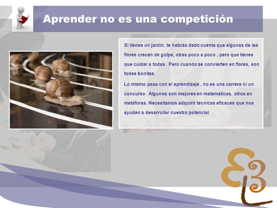 Aprender no es una competición