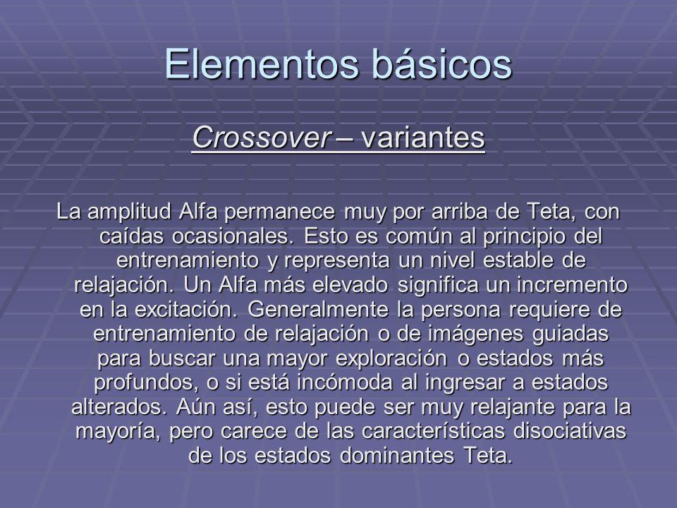 Elementos básicos Crossover – variantes