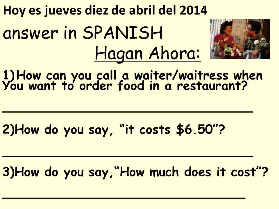 monday in spanish how to say