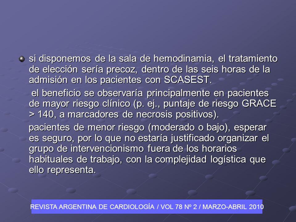 REVISTA ARGENTINA DE CARDIOLOGÍA / VOL 78 Nº 2 / MARZO-ABRIL 2010