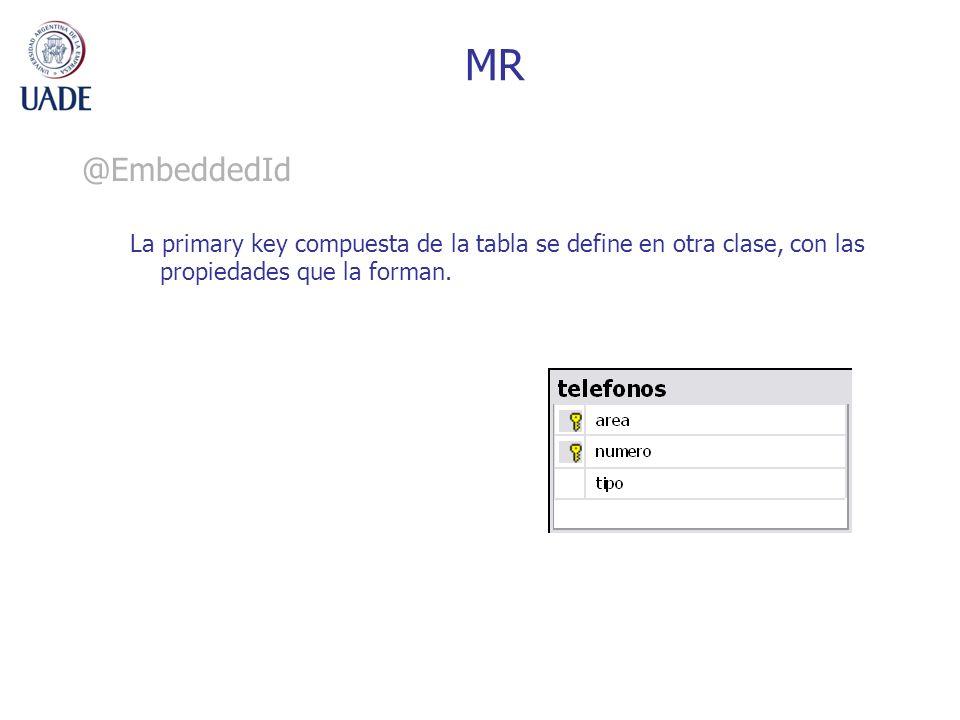 MR @EmbeddedId.