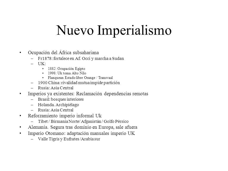 Nuevo Imperialismo Ocupación del África subsahariana
