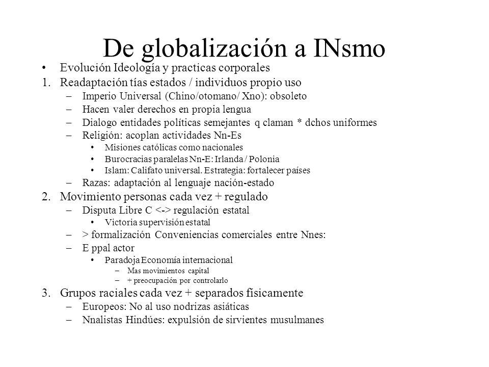 De globalización a INsmo