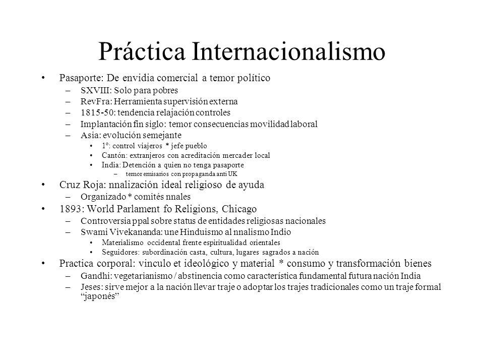 Práctica Internacionalismo