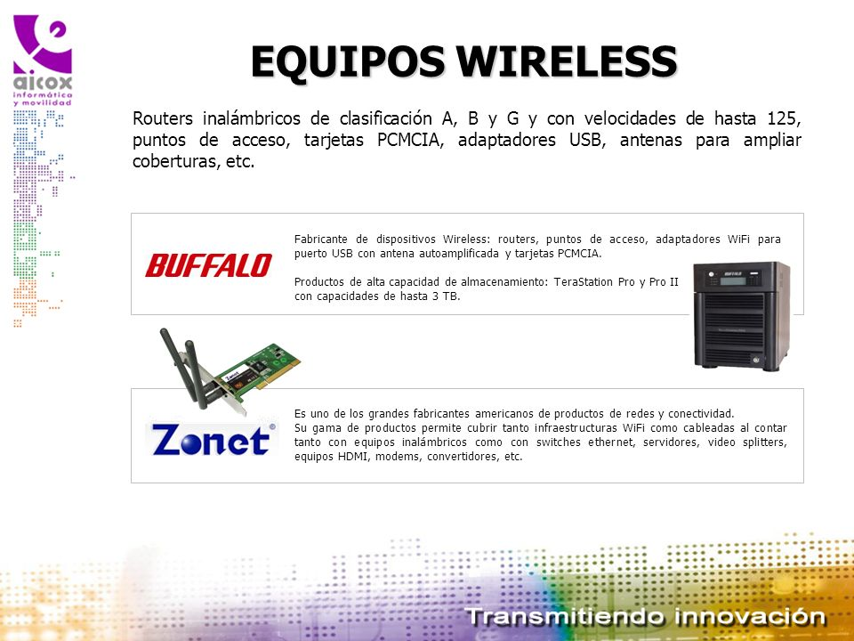 EQUIPOS WIRELESS