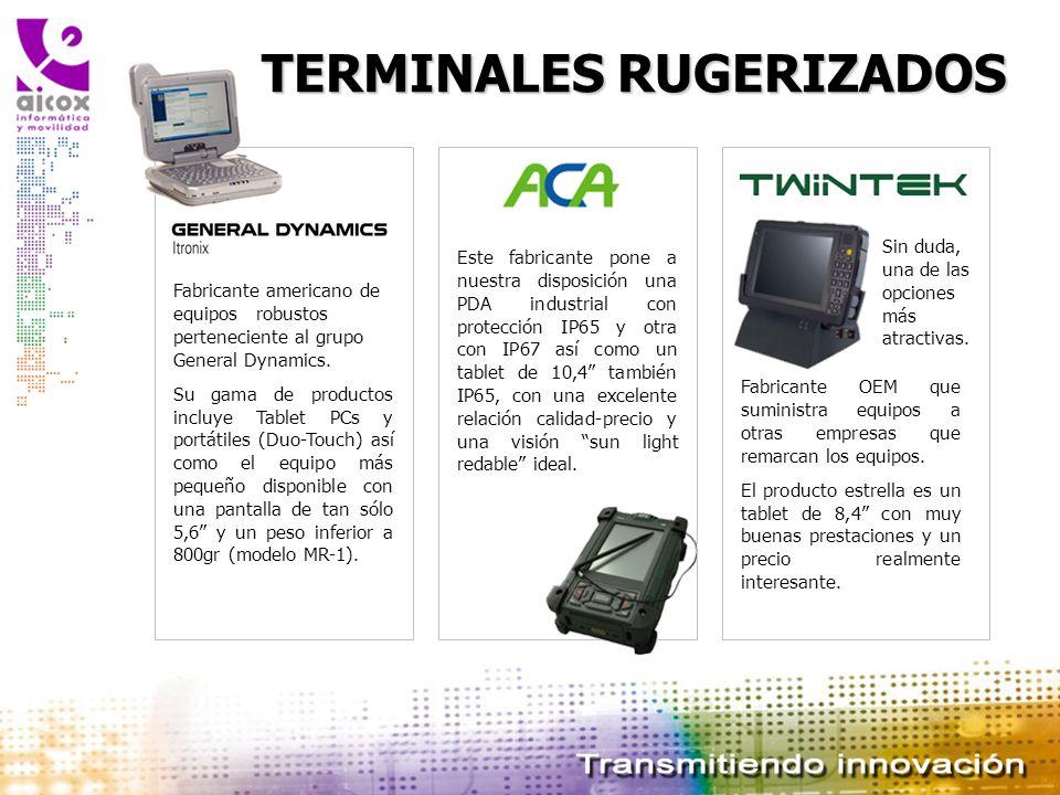 TERMINALES RUGERIZADOS