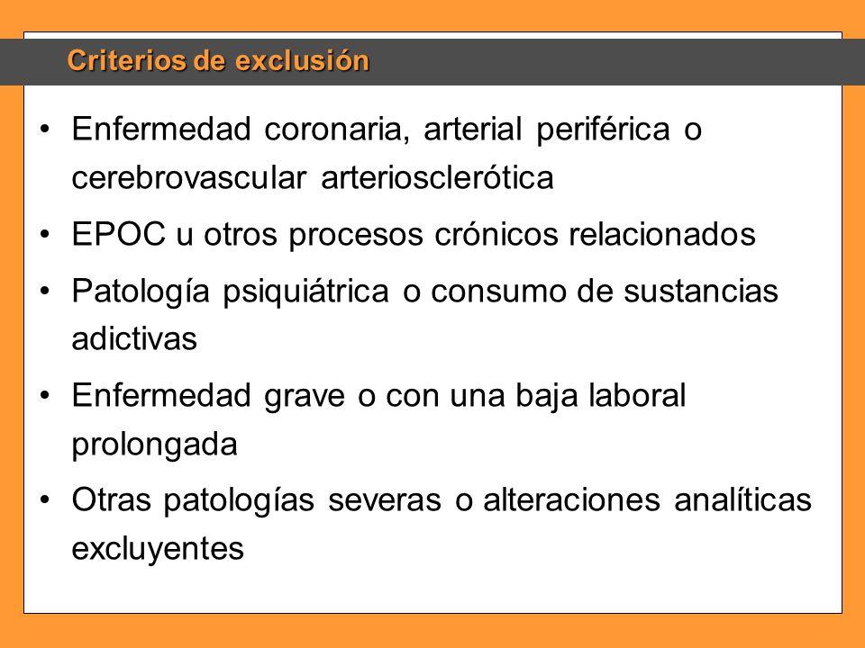 EPOC u otros procesos crónicos relacionados
