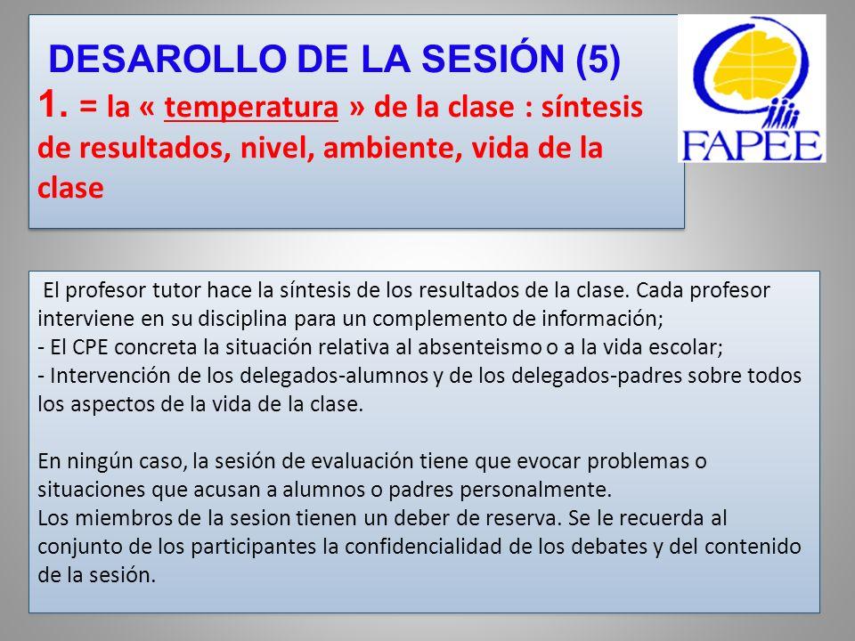 DESAROLLO DE LA SESIÓN (5) 1